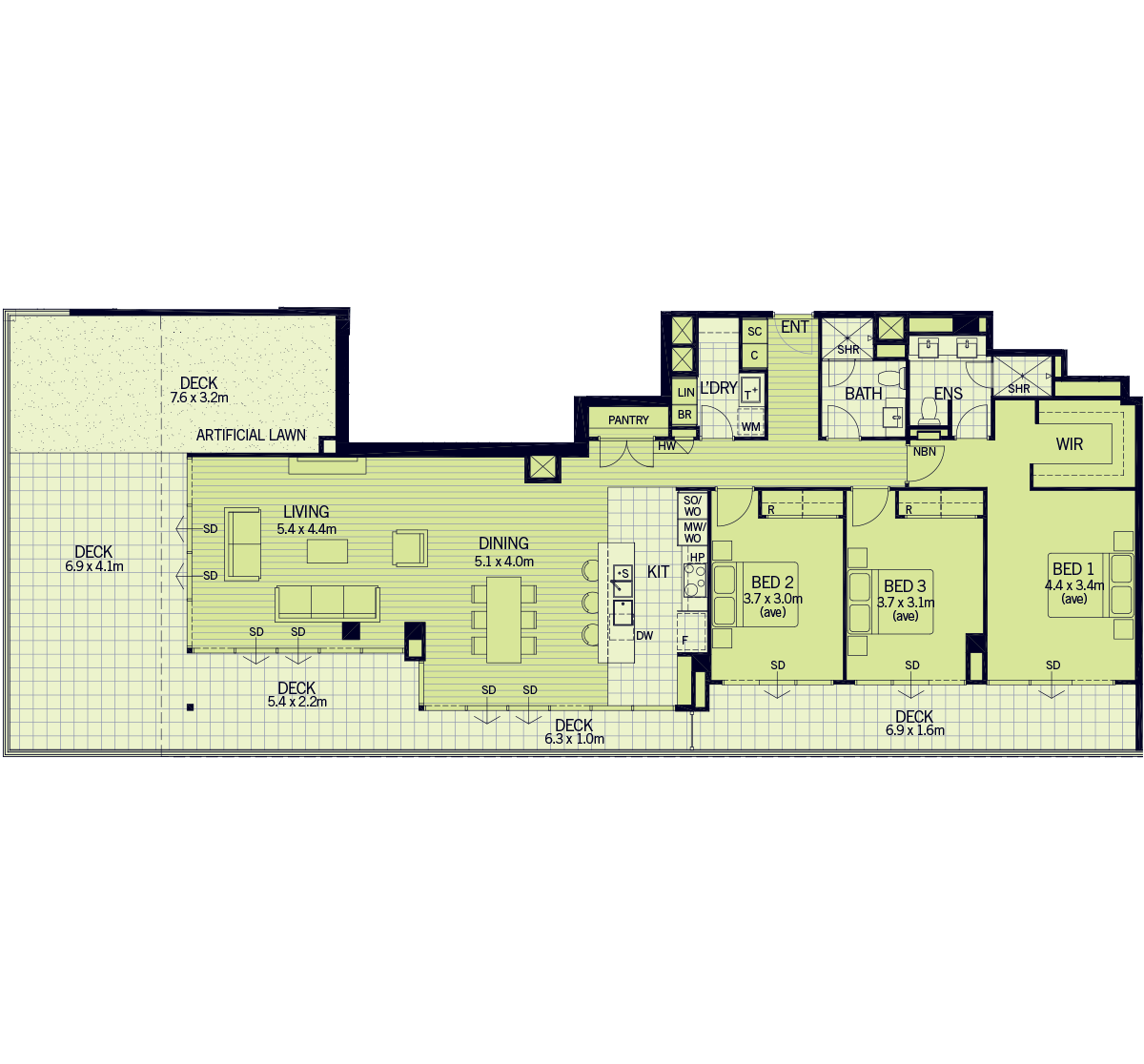 Floorplan for H